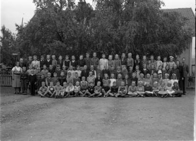 Skolebilde fra Vilberg skole