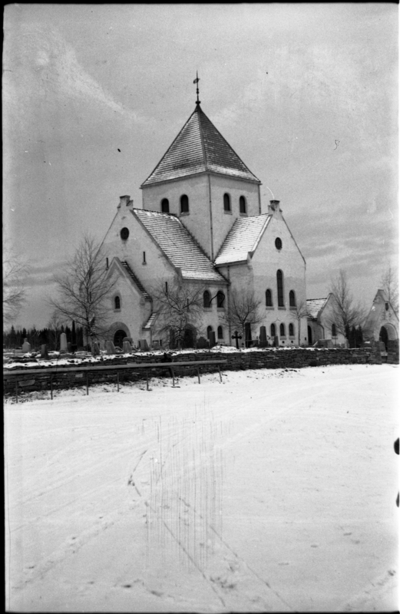 Ås kirke i Vestre Toten 1936