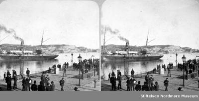 Stereobilde fra Kirkelandets allmenning/Kirkeallmenningen eller Piren