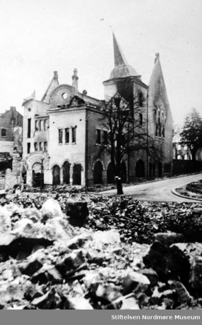 Andre verdenskrig har nettopp kommet til Kristiansund