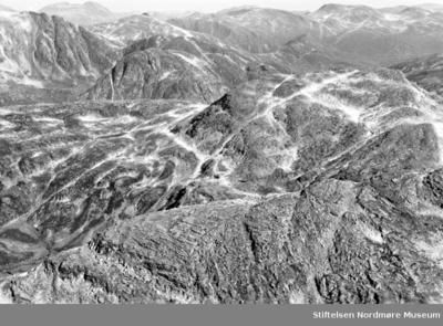 Motiv fra fjellandskap