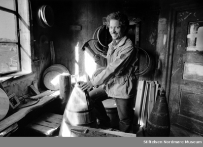 Illustrasjonsfoto av museumsbestyrer Karl Ragnar Gjersen