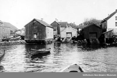 Foto fra sjøkanten på Innlandet i Kristiansund