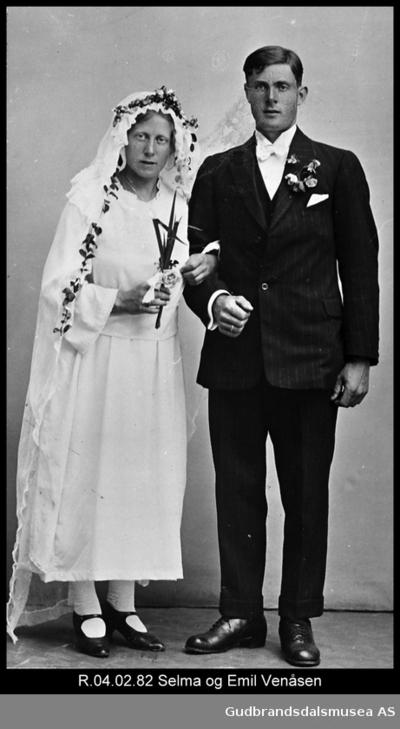Stormarknæs Emil Venåsen og hustru Selma