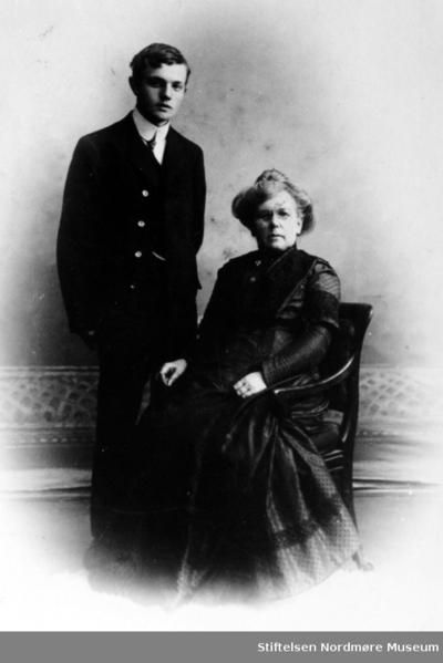 Portrettfoto av Ernst og Katharina Ranheimsæter