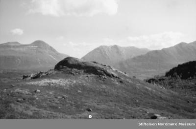 Foto fra et fjellandskap