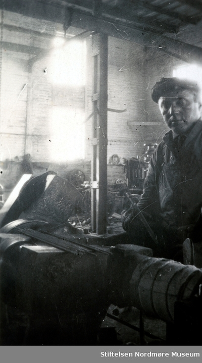 Foto fra Storvik Mekaniske verksted på