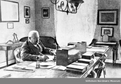 Jens Schou Fabricius Bruun (1843-1919) var prestesønn fra Porsgrunn og var gymnasrektor i Kristiansund N til han ble 75 år gammel