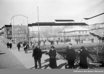 Arkitektkonkurransen? Forslag til gjenreisningsbygg ved og på tidligere Fisketorget på Kirkelandet i Kristiansund