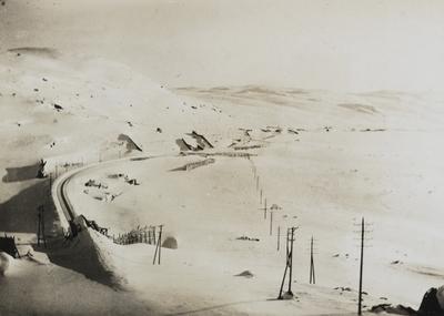 Bergensbanen med snøoverbygg