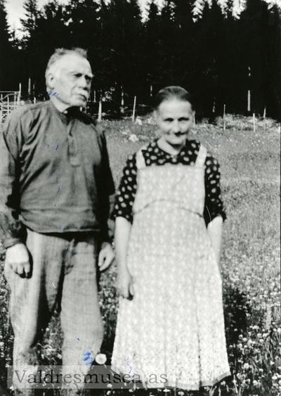 Portrett av Kari og Torvald Langedragslien