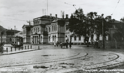 Trondheim stasjon sett fra bysiden