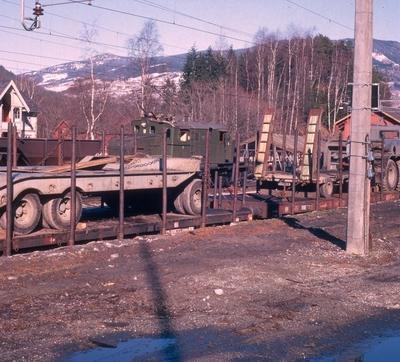 Oslo lysverker sitt transportsett kommer til Gol Stasjon