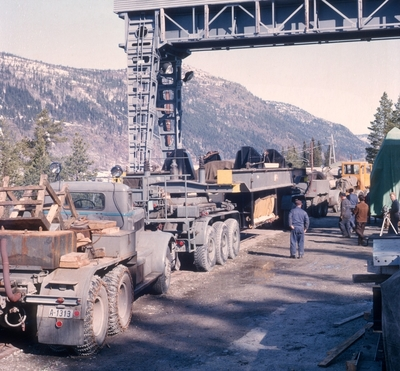 Transport av 120 tonn rotortransport til Uste Kraftverk