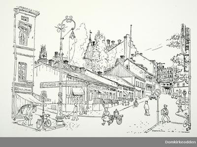 Tegninger og ilustrasjoner laget av Per Solheim