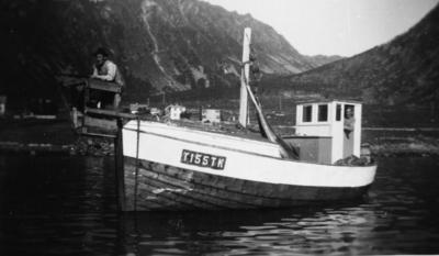 Størjefangst i Sifjord