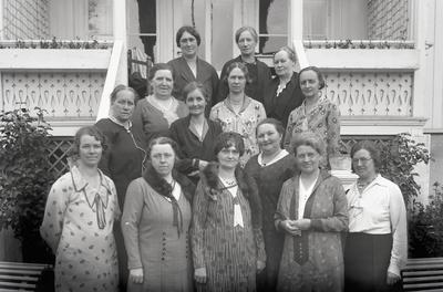 Gjøvik håndverk og industriforening dameklubb 1932