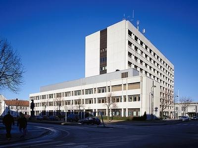 Justisbygget, Politihuset i Kristiansand