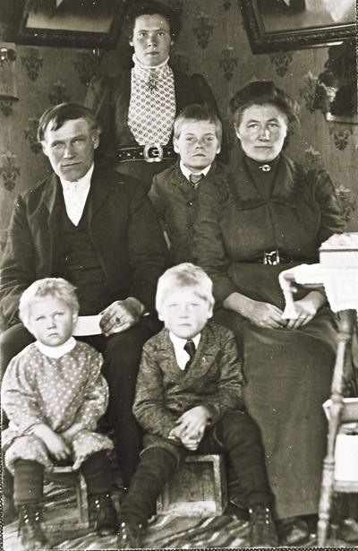 Familie fra Stonglandet som emigrerte til Amerika