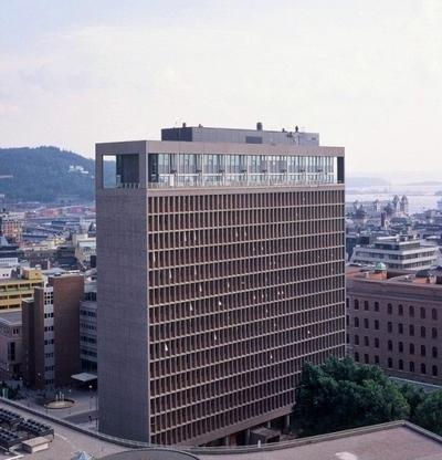 Regjeringskvartalet, Høyblokken