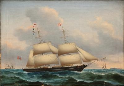 Brigg 'Wilhelm Tell' av Tønsberg