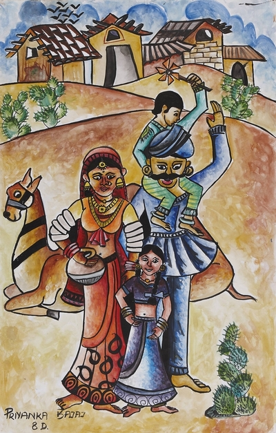 Rajasthani Family