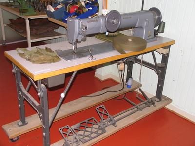Salmakersymaskin m/bord og utstyr