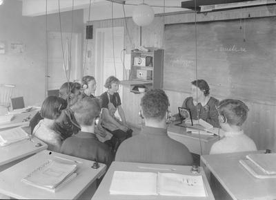 Dahles radioapparat for Døve