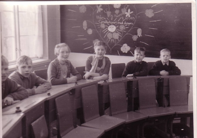 Skoleklasse 08.10.1953