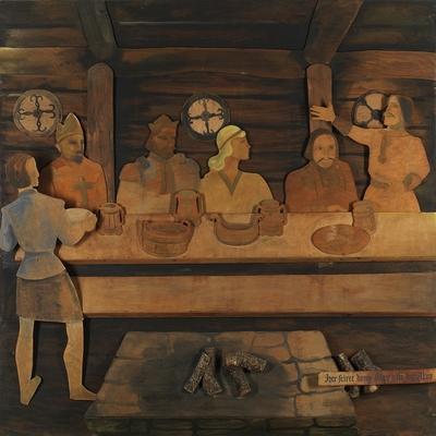 her feiret kong Olav sitt bryllup