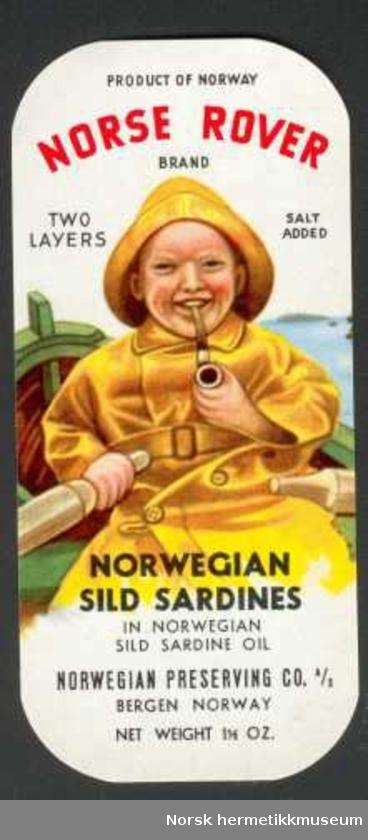 Etikett Norse Rover