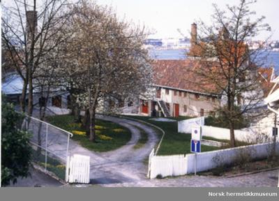 Norsk Hermetikkmuseum, bakgård