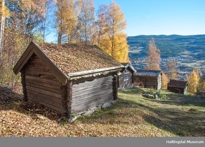 Bu fra Sutøy under Prestegarden på Ål Bygdamuseum, Leksvol