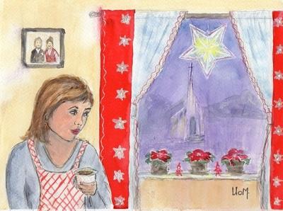 9) Julegardinene - Sparkeføre