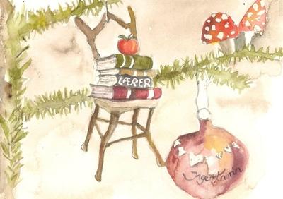 17) Den første jul i et fremmed land - Sparkeføre