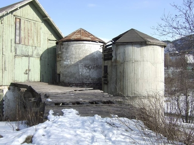 Taraldsvik gård Fjøs Låve Silo