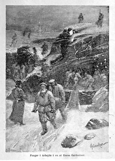 Fanger i arbeide i Karas Guldminer