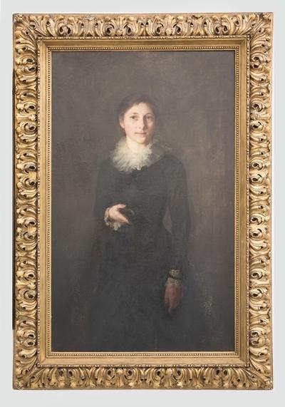 Agnes Steineger, ungdomsportrett