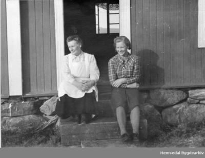 Frå venstre: Sebjørg Thorset