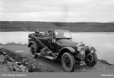 Med bil på fisketur
