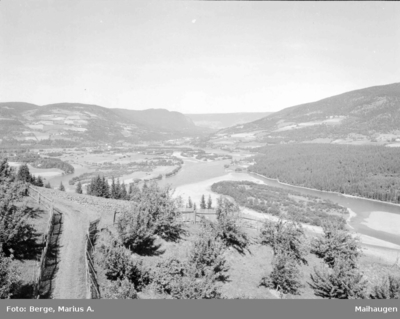 Utsikt fra Kolberg