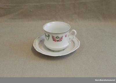 Kaffekopp med skål
