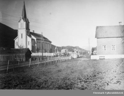 Langnes Kirke i 1939