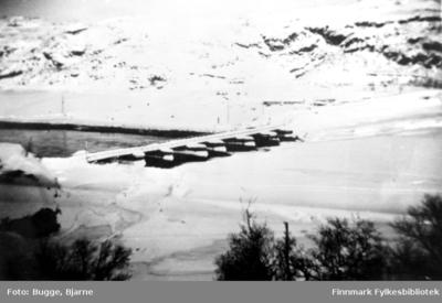 Russebrua ved Elvenes vinteren 1945