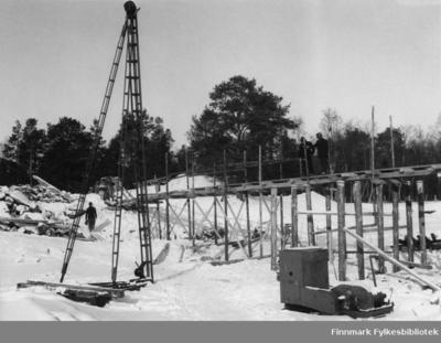 Bygging av Tørrfossen bro