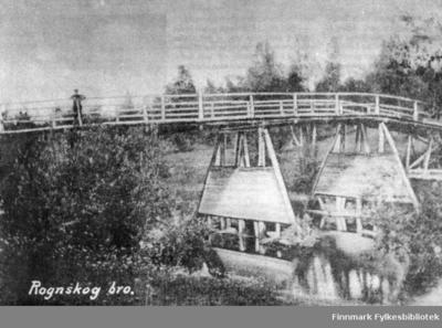 Rognskog bru var viktig for veien til Tverrelvdalen