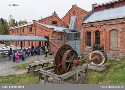 Fra Klevfos Industrimuseum på Ådalsbruk i Løten