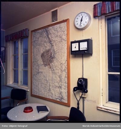 Vindmåler og kart