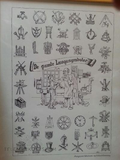 Avtegnede laugssymboler
