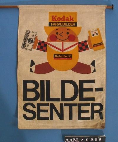 Flagg, Kodak, 2 stk.